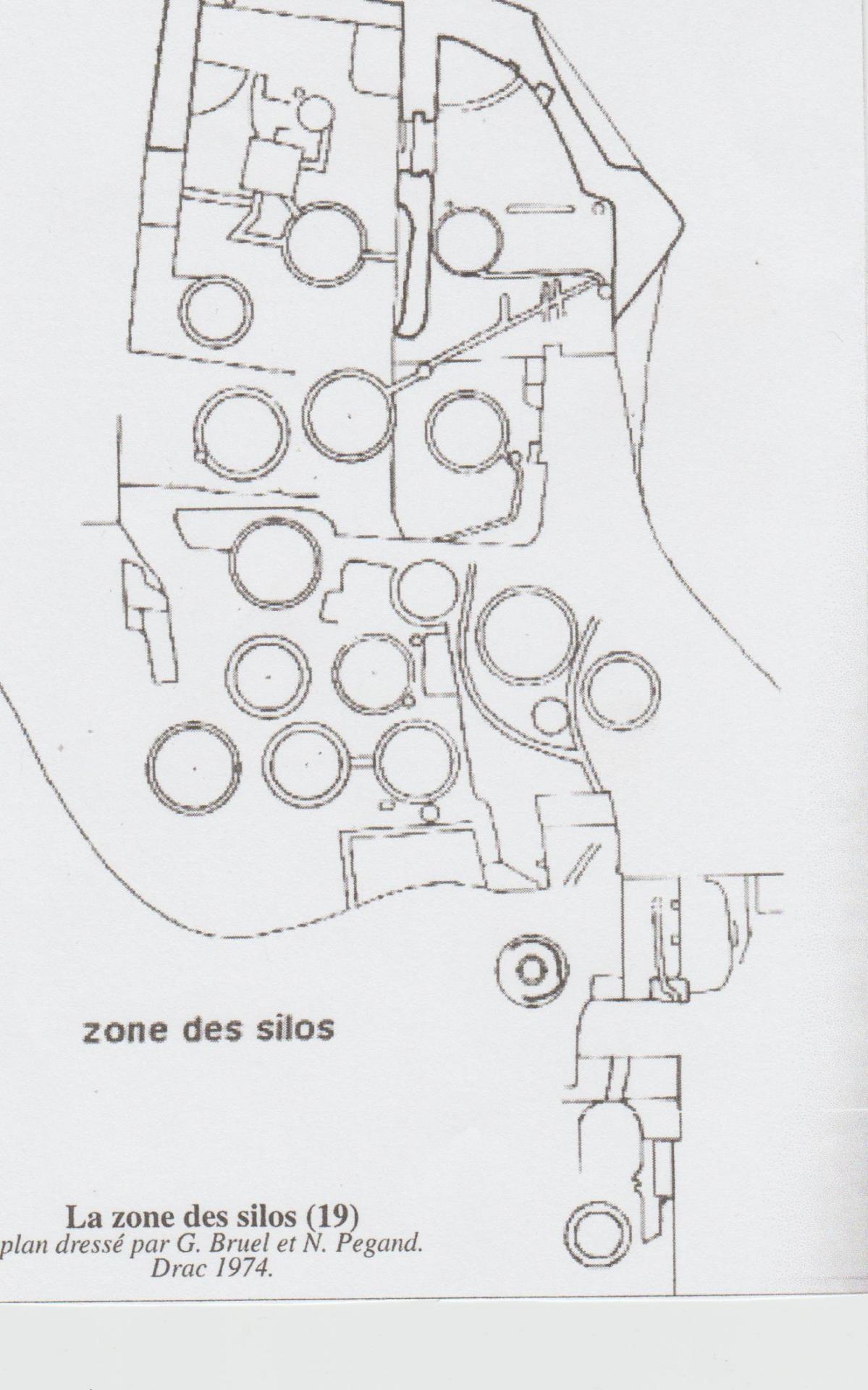 Fort de buoux photo plan des silos 001